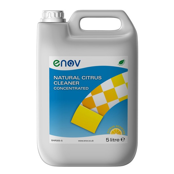 Enov H005 Natural Citrus Cleaner Concentrated 5 litre