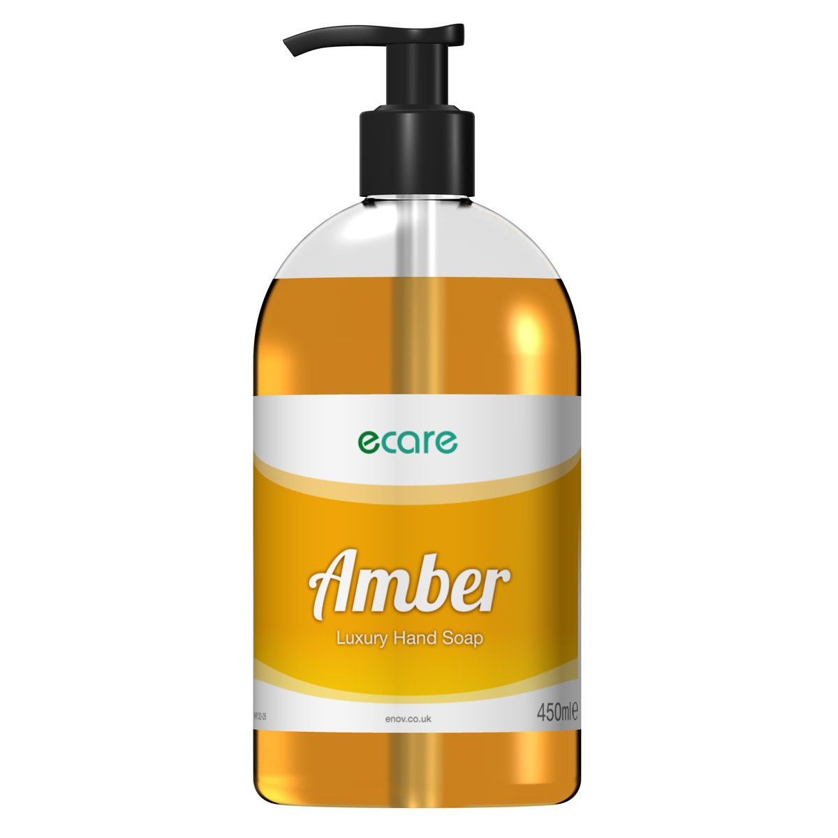 eCare E132 Amber Luxury Hand Soap 450ml