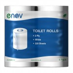 Enov Toilet Rolls 320 Sheets White