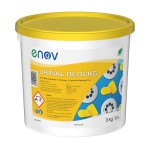 Enov W078 Urinal Channel Blocks 3Kg Yellow