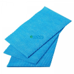 Enov Viscose Wipes Blue